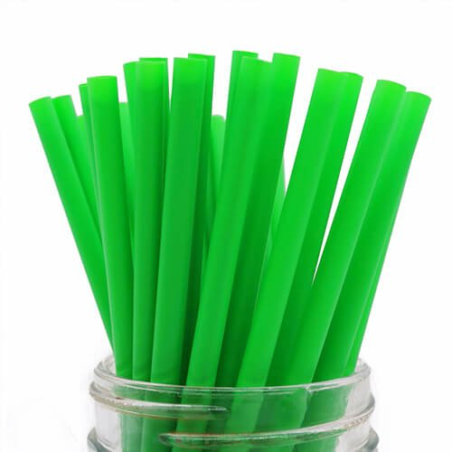 Compostable PLA Straw Assorted Color 2