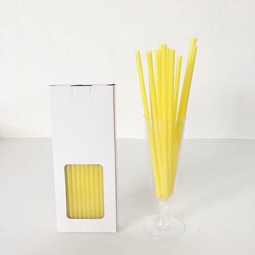 Compostable PLA Straw Assorted Color 3