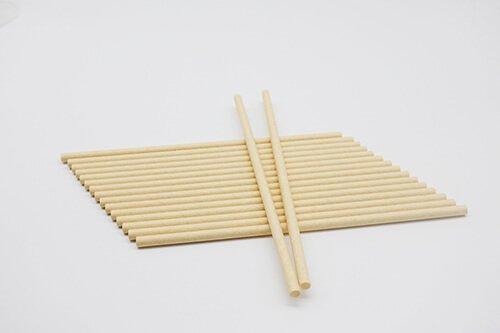 Compostable Paper Straws Kraft 3