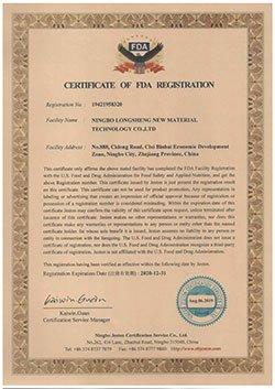 FDA-Certificate