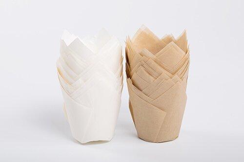 PremiumTulip Baking Cup White 4