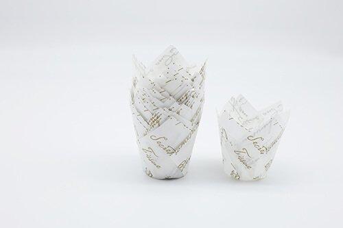 Printed Tulip Baking Cup 3