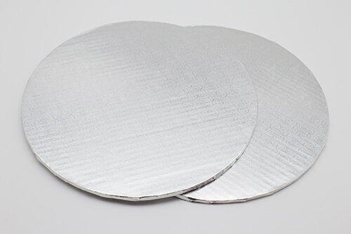 Silver Corrugated Cake Board 2