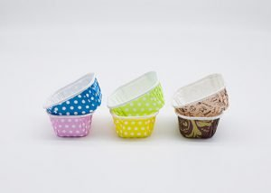 Square Pet Cup Baking Molds 3