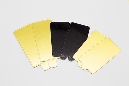 cake board mini rectangle with tab 3