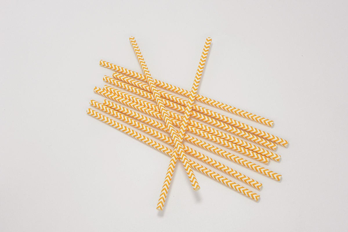 Chevron Paper Straws 2