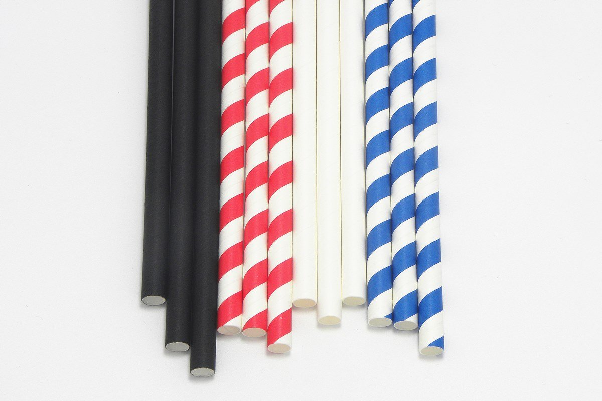 Giant Paper Straws Extra Wide 8mm 10mm 1