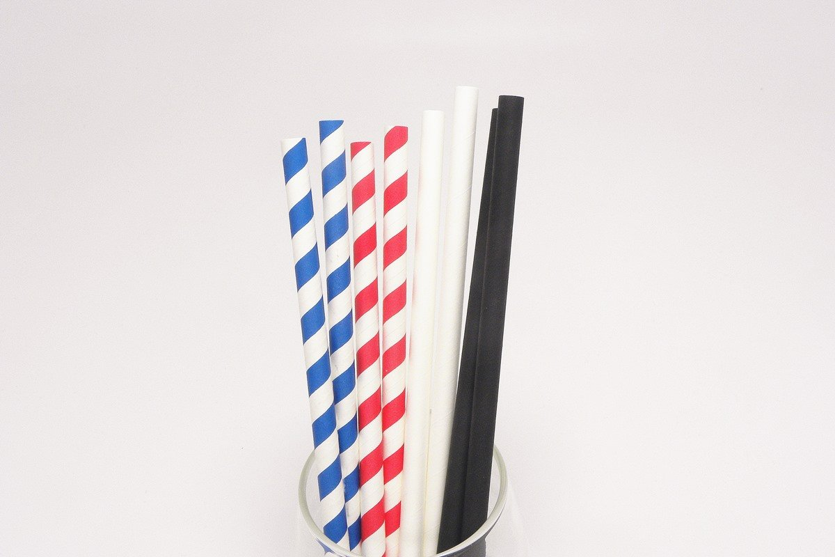 Giant Paper Straws Extra Wide 8mm 10mm 3