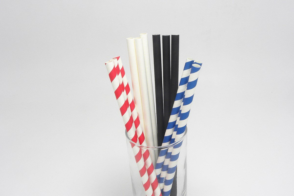 Giant Paper Straws Extra Wide 8mm 10mm 5